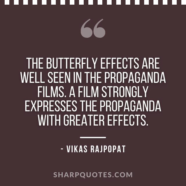 butterfly quote vikas rajpopat