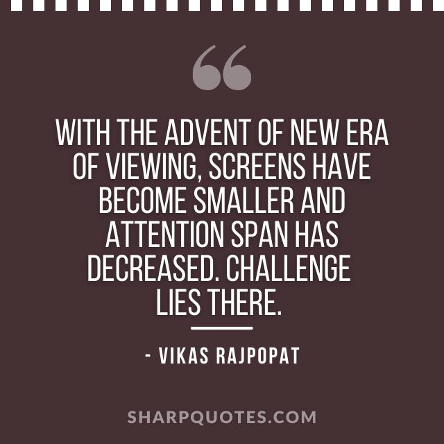 new era quote vikas rajpopat